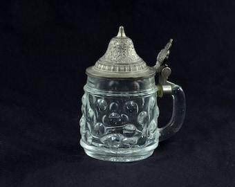 Original BMF Schnapskrugerl Glass Hobnail Stein