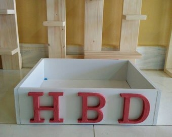 Happy Birth Day box , size is 2 5*2 5*