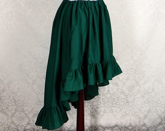 Custom Made -- Regular Length Cecilia Skirt in Cotton -- Made in Your Size and Color Choice