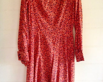 1960s liberty of london cotton shift, the Sarah Blasko dress:)