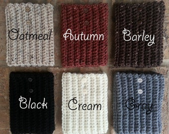 Boot Cuffs with Buttons Boot Cuffs with Buttons Womens Boot Cuffs with Buttons Wool Boot Cuffs with Buttons Crochet Boot Cuffs with Buttons