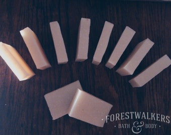 Cold Process Guest Soaps x40 - B&B, Travel, Wedding/Party Favours - Vegan, Cruelty Free, Handmade and Natural - Forestwalkers