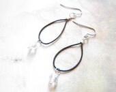 Swarovski Crystal Hoop Earrings TCJG