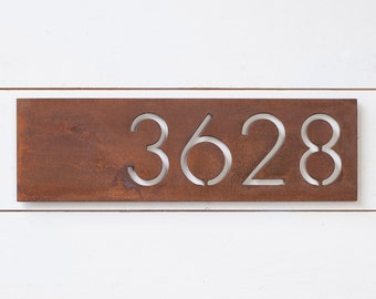 The Monroe House Numbers