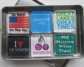 Traverse City, Up North Michigan, Great Lakes, Cherry Festival, Sleeping Bear Dunes, Old Mission Wine Trail, Northwest Michigan Souvenir