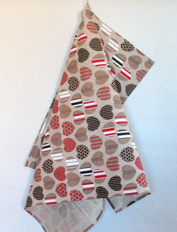 Wedding Gift Tea Towels : ... Dish Towels Tea Towels Love Heart Wedding GiftTea Towels set of 2