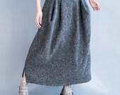 Plus size woolen skirts for winter wear