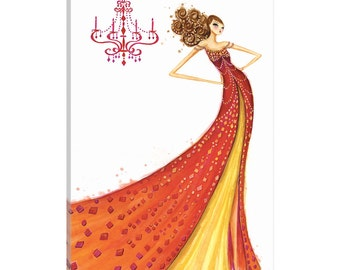iCanvas Couture Gem Gallery Wrapped Canvas Art Print by Bella Pilar
