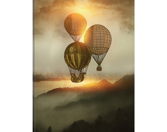 iCanvas A Trip Down The Sunset Gallery Wrapped Canvas Art Print by Viviana Gonzalez