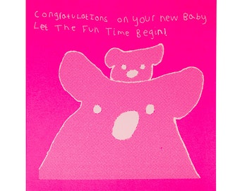 Let the Fun Time Begin Card