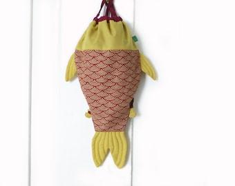 Koi fish purse etsy for Koi fish purse