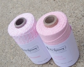Bakers Twine - Twinery Twine - 100% Cotton - Blossom Pink Combo Pack - Your Choice of Length