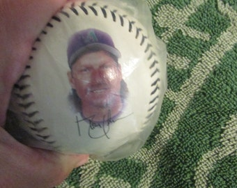 Vintage RANDY JOHNSON 3000 Strikout Limited Edition Baseball Mint in Package