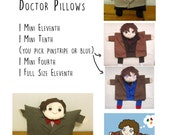 For Srgaudin- Dream Team of Doctor Who Pillows