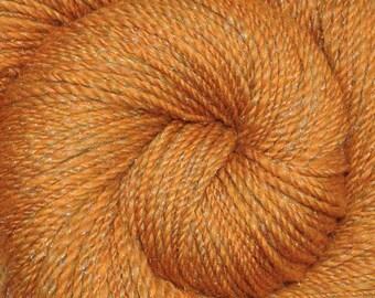 Handspun yarn - Merino wool / nylon yarn, DK weight - 380 yards - Sparkling Sands 1