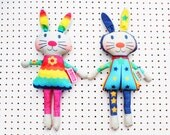 Easter Bunny Doll craft kit personalised rag doll