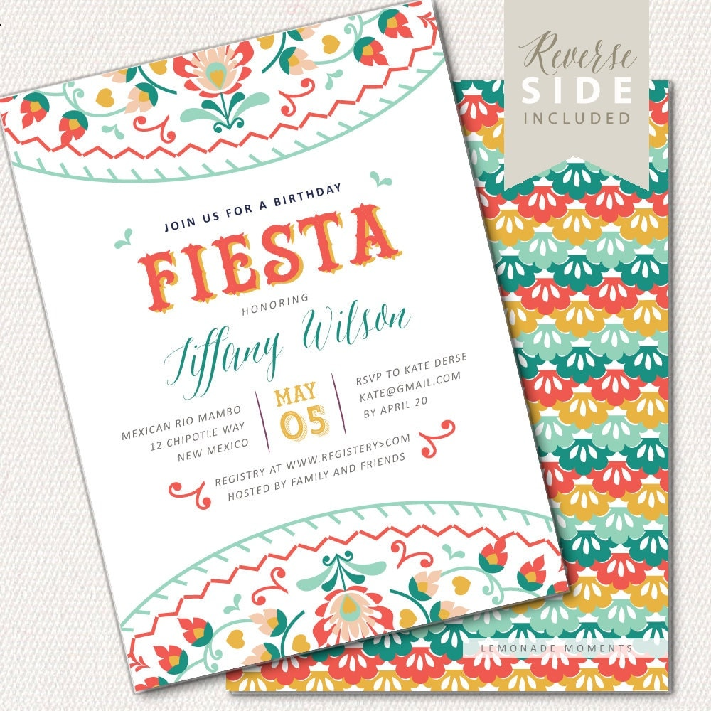 It's just a graphic of Clever Free Printable Fiesta Invitations