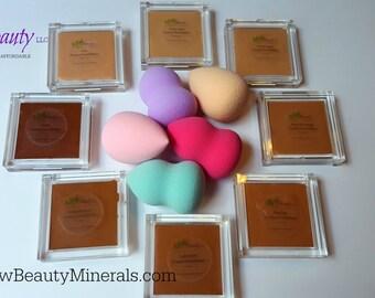 Contour Makeup, Vegan Makeup, Natural Makeup, Mineral Foundation, Cream Foundation, Concealer