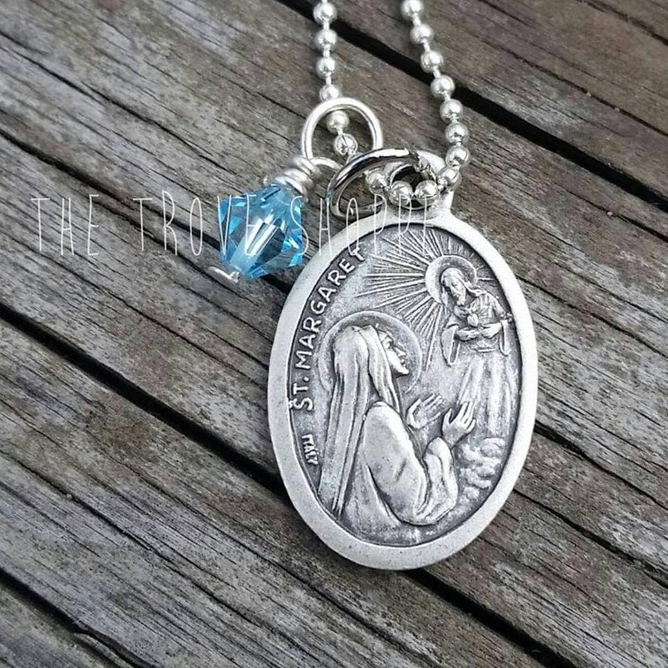 catholic necklaces medal charm jewelry for