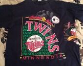 Vintage Minnesota twins shirt