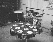 Cat in Paris - Download Monochrome Printable Fine Art Photograph, digital instant download, black and white, photography print