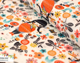 Windsong from Birch Organic Fabric's Wildland Collection