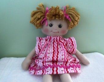 GIRL DOLL sweet cloth doll