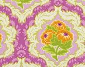 Heather Bailey Lottie Da fabric by the yard Free Spirit Fabrics Dauphine in Orchid 1 yard