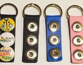 ArtSnappinz Key Ring with Three Snaps