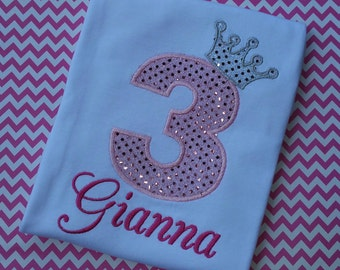 Princess Birthday Shirt