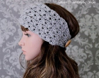 Crochet Pattern - Crochet Headband Pattern - Easy Crochet Pattern - Crochet Ear Warmer Pattern - Baby, Toddler, Child, Adult Sizes - PDF 432