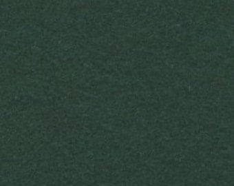 "1 Yard Hunter Green Polyester Felt 36""x36"""