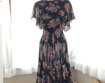 FABULOUS 1960s FLORAL dress
