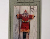 Welcome Santa Cloth Doll by Homebodies