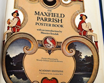 The Maxfield Parrish Poster Book, Maurice Sendak, 1974, 0856702552