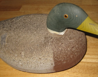 Cork Duck Decoy Excellent Shape collectible