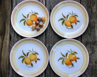 Salad Plates, Harmony House, Ironstone, Set of four 4