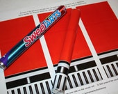Star Wars Red Lightsaber Candy - Printable Artwork