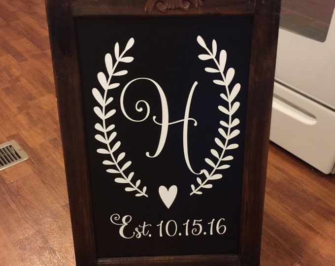 Wedding Entrance Sign Decal | Personalized Wedding Gift | Cornhole Decals | Best Day Ever Wedding Decal