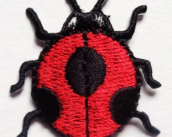 Iron On Patch Applique - Large Lady Bug
