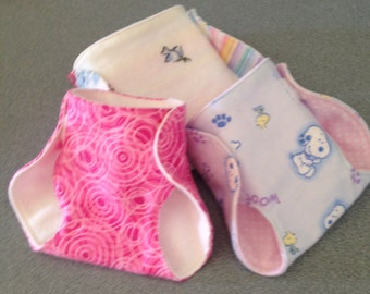 Dolly Diapers/Set of 3