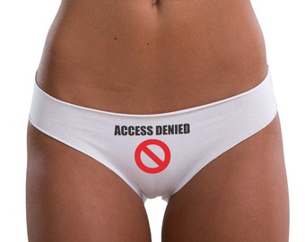 Women's underwear - SEAMLESS COTTON BRIEFS, women lingerie, printed panties, cotton underwear, printed panties, funny women panties