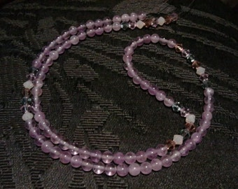 Amethyst Waist Beads (1 Pair) Size 25 - 36.5 inches