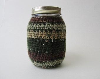 Mason Jar Cozy -Mossy Oak-