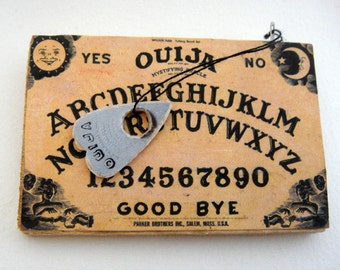 Ouija board brooch