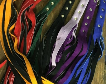 Suede Leather Floggers