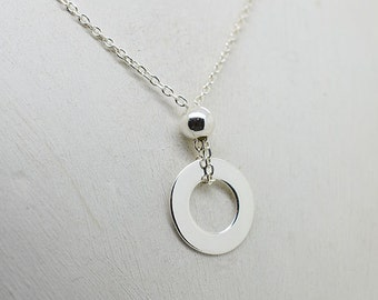 Sterling Silver Necklace (Matching earrings)