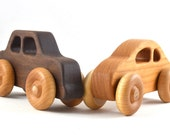 Wooden Toy Car - Choose Your Style - Eco Friendly and Heirloom Quality - Stocking Stuffer