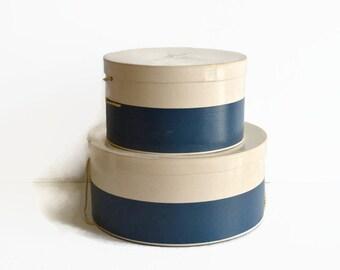 vintage hat boxes Martins Dept. Store New York