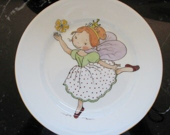 Hand painted, Royal Doulton fairy plate